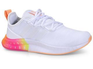 Tênis Feminino Adidas Fz2790 Kaptir Super Branco/color - Tamanho Médio