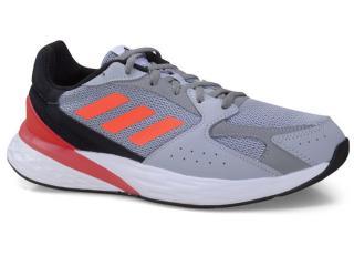 Tênis Masculino Adidas Fy5956 Response Run Cinza/preto/vermelho - Tamanho Médio