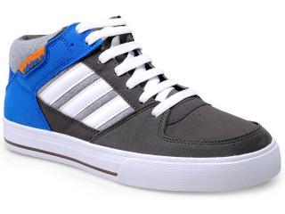 Tênis Masculino Adidas F39214 Skneo Grider Chumbo/azul/branco - Tamanho Médio