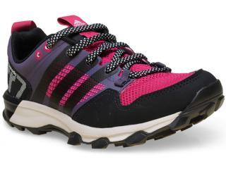 Tênis Feminino Adidas B33639 Kanadia 7 tr Preto/pink/lilas - Tamanho Médio