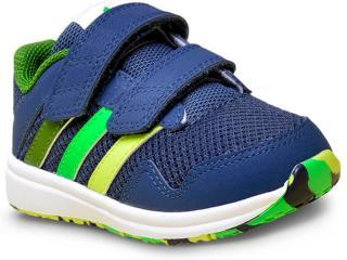Tênis Masc Infantil Adidas Af4358 Snice 4 cf Marinho/verde - Tamanho Médio