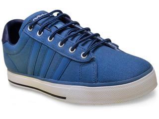 Tênis Masculino Adidas F99634 Daily Azul - Tamanho Médio