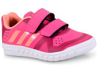Tênis Fem Infantil Adidas Db1217 Quicksport Pink - Tamanho Médio