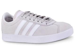Tênis Feminino Adidas Da9888 vl Court Areia/branco - Tamanho Médio