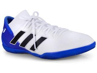 Tênis Masculino Adidas Db2223 Nmz Messi Tango 18.3 Ind Branco/azul - Tamanho Médio