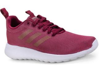 Tênis Feminino Adidas B96620 Lite Race Cln Vinho/branco - Tamanho Médio