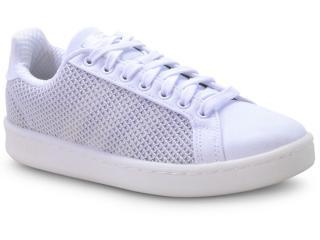 Tênis Feminino Adidas F36991 Grand Court Branco/cinza - Tamanho Médio