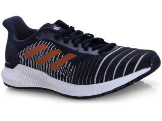 Tênis Masculino Adidas F37055 Solar Ride m Marinho/branco - Tamanho Médio