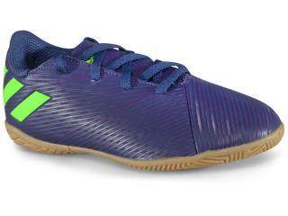 Tênis Masc Infantil Adidas Ef1817 Nmz Messi 19.4 in jr Marinho/roxo/limão - Tamanho Médio