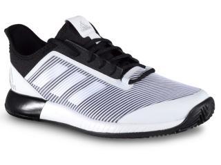 Tênis Masculino Adidas Eh0948 Defiant Bounce 2 m Branco/preto - Tamanho Médio