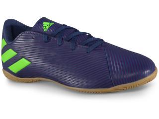 Tênis Masculino Adidas Ef1810 Nmz Messi 19.4 in Marinho/roxo/limão - Tamanho Médio