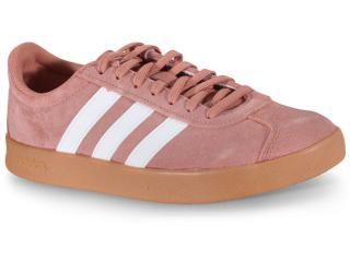 Tênis Feminino Adidas Ee6801 vl Court 2.0 w Rosa Antigo - Tamanho Médio