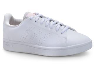 Tênis Feminino Adidas Ee7510 Advantage Base Branco - Tamanho Médio