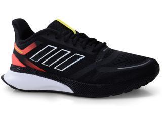 Tênis Masculino Adidas Eg3165 Novafvse m Preto/coral - Tamanho Médio