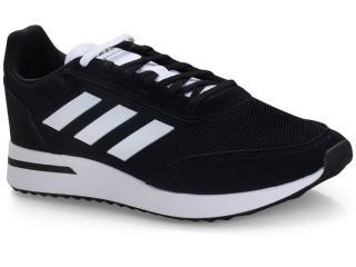 Tênis Masculino Adidas Ee9752 Run70s Preto/branco - Tamanho Médio