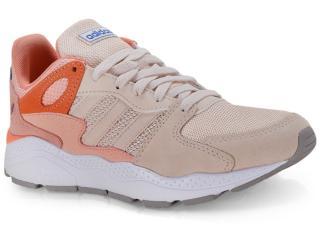 Tênis Feminino Adidas Ef1063 Crazychaos Bege/laranja - Tamanho Médio