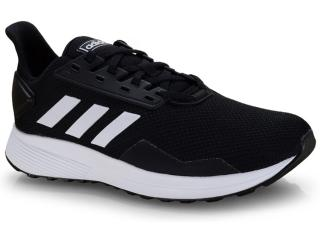 Tênis Masculino Adidas Bb7066 Duramo 9 Preto/branco - Tamanho Médio