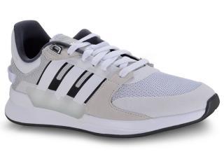 Tênis Feminino Adidas Ef0582 Run 90s Cinza/azul - Tamanho Médio