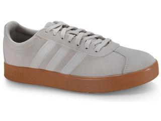 Tênis Masculino Adidas Ee6893 vl Court 20 m Bege/branco - Tamanho Médio