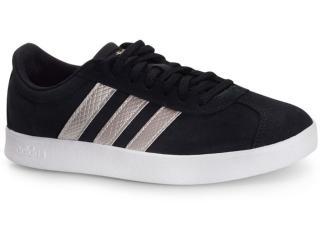 Tênis Feminino Adidas Ee6784 vl Court 2.0 w Preto/prata - Tamanho Médio