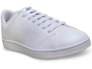 Tênis Feminino Adidas B74574 Advantage Branco - Tamanho Médio