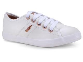 Tênis Feminino Coca-cola Shoes Cc1753 Branco/cobre - Tamanho Médio