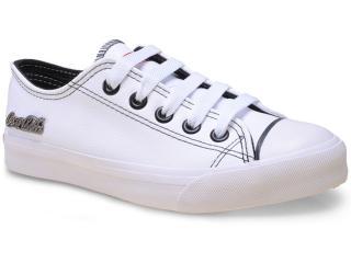 Tênis Feminino Coca-cola Shoes Cc0063 Branco - Tamanho Médio