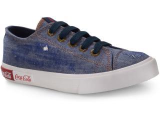 Tênis Feminino Coca-cola Shoes Cc1690 Jeans - Tamanho Médio