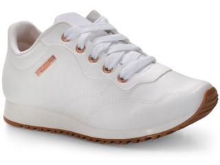 Tênis Feminino Coca-cola Shoes Cc1672 Branco - Tamanho Médio