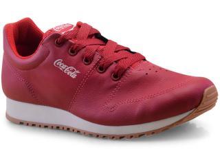 Tênis Masculino Coca-cola Shoes Cc1461 Vermelho - Tamanho Médio