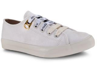 Tênis Feminino Coca-cola Shoes Cc1533 Off White - Tamanho Médio
