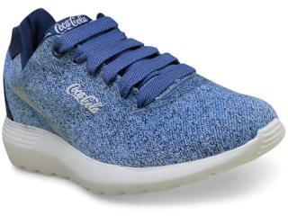 Tênis Feminino Coca-cola Shoes Cc1306 Denin - Tamanho Médio