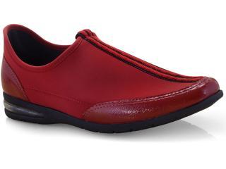 Tênis Feminino Comfortflex 19-58303 Vermelho - Tamanho Médio