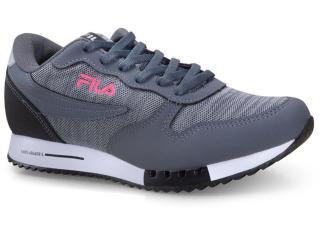 Tênis Feminino Fila 51u335x.3207 Euro Jogger Sport Grafite/prata/rosa - Tamanho Médio