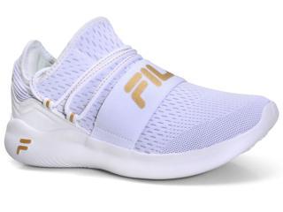 Tênis Feminino Fila 51j634x.2209 Trend Branco/dourado - Tamanho Médio