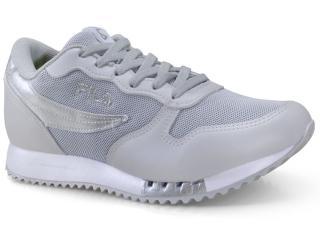 Tênis Feminino Fila 51u335x.1477 Euro Jogger Sport Prata/branco - Tamanho Médio