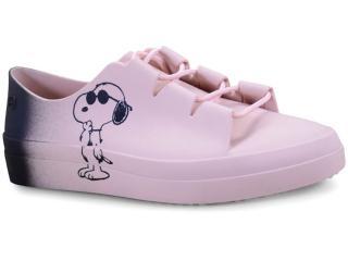 Tênis Feminino Grendene 17823 90059 Zaxy Snoopy Nude - Tamanho Médio