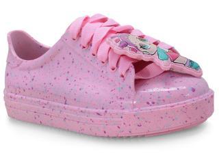Tênis Fem Infantil Grendene 22125 01358 Lol Colors Rosa Candy - Tamanho Médio