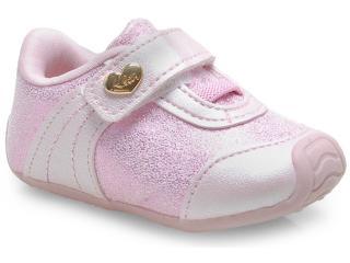 Tênis Fem Infantil Klin 144.004 Rosa - Tamanho Médio