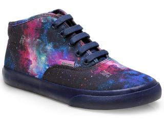 Tênis Feminino Mary Jane 4052c Galaxia - Tamanho Médio
