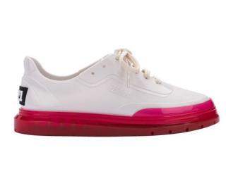 Tênis Feminino Melissa 33399 51463 Classic Sneaker+bt21 Branco/rosa - Tamanho Médio