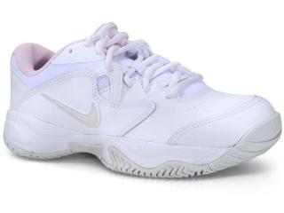 Tênis Feminino Nike Ar8838-104 Court Lite 2 Branco/rosa - Tamanho Médio