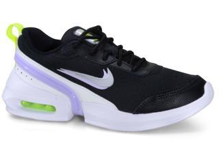 Tênis Feminino Nike Cj1678-001 Air Max Siren Preto/branco - Tamanho Médio