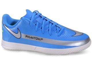 Tênis Masc Infantil Nike Ck8481-400 jr Phantom gt Club ic Azul/cinza - Tamanho Médio
