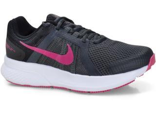 Tênis Feminino Nike Cu3528-011 Run Swift 2 Preto/rosa - Tamanho Médio
