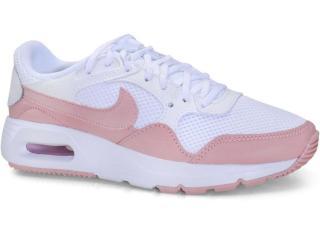Tênis Feminino Nike Cw4554-102 Air Max sc Rosa/branco - Tamanho Médio