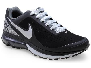 Tênis Masculino Nike 633024-010 Air Max Supreme 2 Preto/cinza - Tamanho Médio