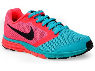 Tênis Feminino Nike 630995-300 Zoom Fly Coral/verde - Tamanho Médio