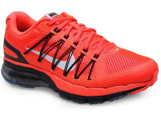 Tênis Masculino Nike 703072-601 Air Max Excellerate 3  Laranja/preto - Tamanho Médio