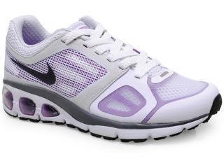 Tênis Feminino Nike 558443-104 Wmns Air Max Transcend  Branco/roxo - Tamanho Médio